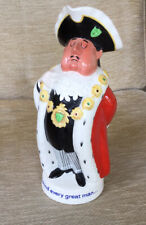 More details for vintage beswick worthingtons pale ale toby jug lord mayor water jug