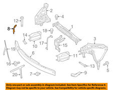 Mercedes MERCEDES-BENZ OEM E350 Radiator Core Support-Bracket Right 2076200285