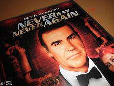 JAMES BOND 007 dvd Sean CONNERY in NEVER SAY NEVER AGAIN kim basinger ATKINSON