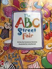 Teacher Big Book ABC STREET FAIR Kindergarten 1st SHARED READING