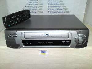 LG VHS VCR BD280I Video Recorder -Crystal picture-Auto Head Cleaning-VideoDoctor