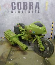 GI JOE ~ 1982 RAM MOTORCYCLE ~ UNBROKEN KICKSTAND ~ 100% COMPLETE