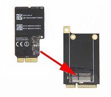 """Mini PCI-E Tarjeta Adaptador inalámbrico Wifi Apple 21.5"""" iMac A1418 A1419 con Tornillos"""
