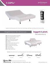 ~ QUEEN ~ LEGGETT AND PLATT SCAPE+ (PLUS MODEL)   ELECTRIC ADJUSTABLE BED