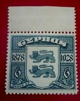 Cyprus:1928 The 50th Anniversary of the Colonies 6 Pia Rare & Collectible stamp.