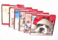 12 Assorted Navidad Tarjeta de felicitación Autosellado SOBRE REGALO