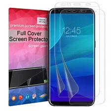 2X LCD Flim Screen TPU Film Guard full cover Protector For Samsung Galaxy S8
