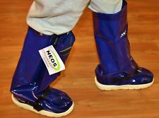 Neos, Food Services Overshoes Steel Toe Blue It20Pt17Blu