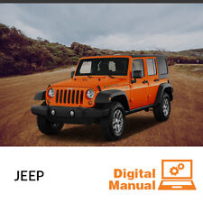 Jeep - Service and Repair Manual 30 Day Online Access
