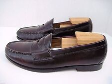 COLE HAAN NIKE AIR CORDOVAN LEATHER CASUAL PENNY LOAFERS SIZE 8 M EUC