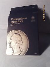 Whitman Tri-Fold Blue Folder #9018 Washington Head Quarters 1932-1945 NEW Style
