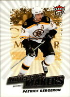 2008-09 Ultra Difference Makers #DM17 Patrice Bergeron - NM-MT