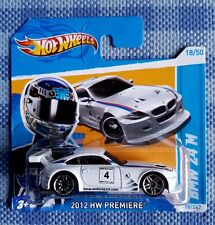 Hot Wheels Bmw Z4 M . 2012 HW Premiere. Sehr selten.