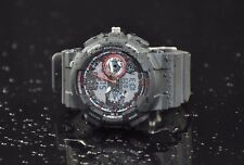 BLACK SPORTS WATCH Mens Digital & Analogue Japan Quartz Movement Water Resistant