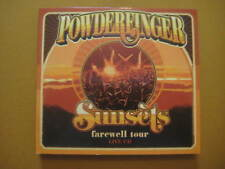 POWDERFINGER Sunsets Farewell Tour Live at Riverstage Brisbane RARE 2 x CD 2010