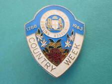 Country Week Royal NSW Bowling Badge