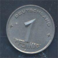 DDR Jägernr: 1501 1948 A Stgl./unzirkuliert 1 Pfennig Ähre auf Zahnrad (8267907
