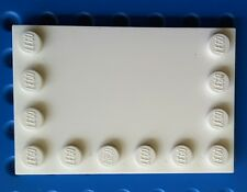 LEGO 6180 white Tile, Modified 4 x 6. From sets. 75155, 10189, 7931 etc