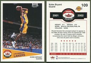 2001-02 Fleer Shoebox - #109 - Kobe Bryant - Los Angeles Lakers