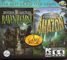 Mystery Case Files Ravenhearst & Hidden Expedition Amazon PC Games Window 10 8 7