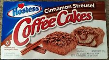 NEW Hostess Cinnamon Streusel Coffee Cakes 8 Count Free Worldwide Shipping