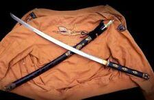 Handmade Japanese Sword Sharp HRC60 Spring Steel Samurai Katana Saber Full Tang