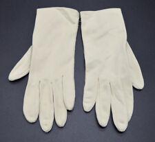 Beige Vintage Gloves 100% Nylon Size Small NOS