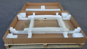 FORD CORTINA  MK5 SALOON FRONT WINDSCREEN GLACETEX TINTED B used orginal