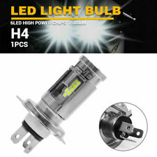 2X H4 9003 LED Motorcycle Headlight Bulbs Hi/Low Beam HID White ATV SUV DC10-60V