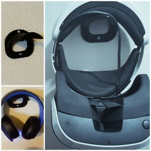 Wall mount PSVR Xbox PS4 GOLD PlayStation VR gaming headset + mounting screws