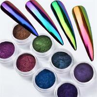Chameleon Fashion DIY Dust Mirror Powder Chrome Pigment Nail Art Glitter