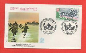FDC - 1974 - 30e anniversaire du débarquement en Normandie   (839)