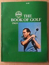 1969 PGA THE BOOK OF GOLF RICHARD NIXON COVER