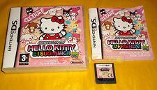 GRANDE FESTA CON HELLO KITTY E I SUOI AMICI Nintendo Ds Italiano ○○○○ USATO - B7
