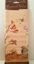 Raymond Waites Natures Romance Iris Floral Butterfly Wallpaper Border Prepasted