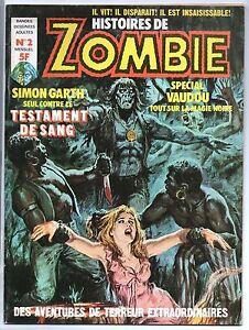 ZOMBIE n°2 - mensuel France Sud 1976. Parfait état