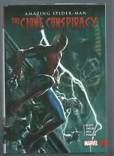 🔥AMAZING SPIDER-MAN: THE CLONE CONSPIRACY**(2017, MARVEL)**HARDCOVER HC**