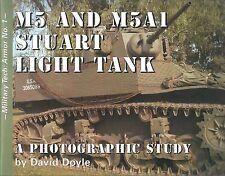 M5 and M5A1 Stuart Light Tank: Military Tech Armor No. 1