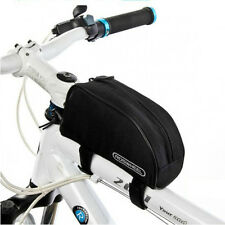 New Black Cycling Bike Outdoor Sports Bicycle Frame Pannier Front Tube Bag