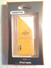 New Griffin iclear Crystal Clear Hard Case for iPod nano 5th Generation