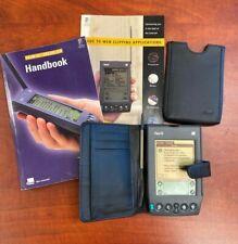 Palm Vii Handheld Personal Pda Pilot Organizer Case Stylus Manuals