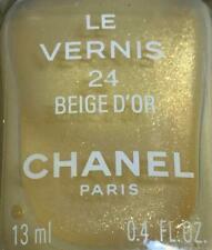 chanel nail polish 24 Beige d'or rare limited edition vintage BNIB