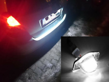 2x White Led License Plate Lights Lamps Fit For Honda Crv Jazz Crosstour Odyssey