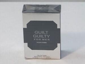 fragrance couture guilt guilty for men pour homme cologne 3.4 fl.oz