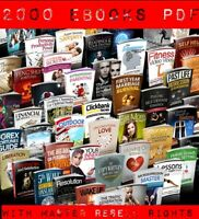2000 lot Various eBooks Collection With Master Resell Rights