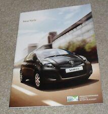 Toyota Yaris Brochure 2009 - 1.0 1.3 VVTI 1.4 D4D - T2 T3 T Spirit