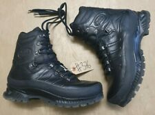 Meindl German Army SF Issue Black Leather GoreTex Combat Boots Size 10 UK #376