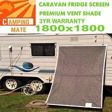 Caravan Fridge Shade screen superior Premium Vent 1800x1800mm XXLARGE AUS MADE