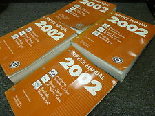 2002 GMC Yukon XL SUV Shop Service Repair Manual SLT SLE Denali 1500 2500 5.3L
