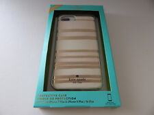 Kate Spade Protective Hardshell Case For iPhone 7 Plus iPhone 6/6s Plus Crm/Gold